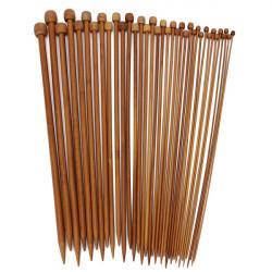 36stk Bambus Strikkepinde Trøje Tørklæde Håndarbejde Tilbehør