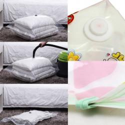 3 Størrelse Tøj Quilt Opbevaring Tasker Pladsbesparende Vakuum Komprimeret Tasker