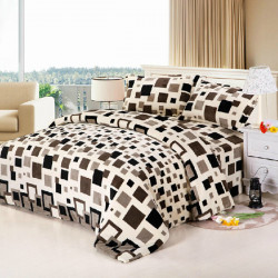 4Pcs Suit Flannel Velvet Reactive Bedding Sets Resistance Cold