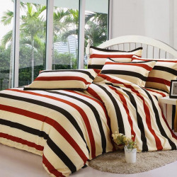 4Pcs Suit Polyester Velvet Cotton Printing Bedding Sets 4 Styles