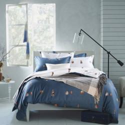 4st Suit Bomull Conch Predestined Kärlek Tryck Förtjockning Sängkläder Set