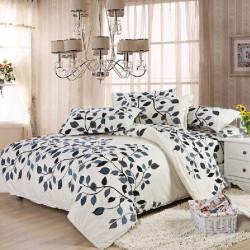 4stk Anzug Polyester Faser Festigkeit einfache Art Bettwäsche Sets