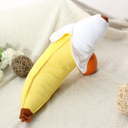 50cm Simulation Banana Pude Plush Stuffed Pude Kontor Decor