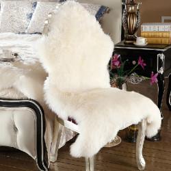 60X100cm Bedroom Living Room Pure Wool Carpet Warm Sofa Cushion