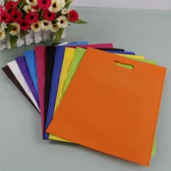 9 Colors Non-woven Fabrics Reusable Shopping Carrier Bags