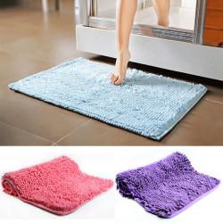 Absorbent Microfiber Chenille Carpet Non-slip Bathroom Bedroom Doormat