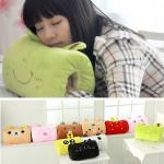 Cartoon Animals Soft Plush Pillow Hand Hold Warmer Office Break Home Textiles