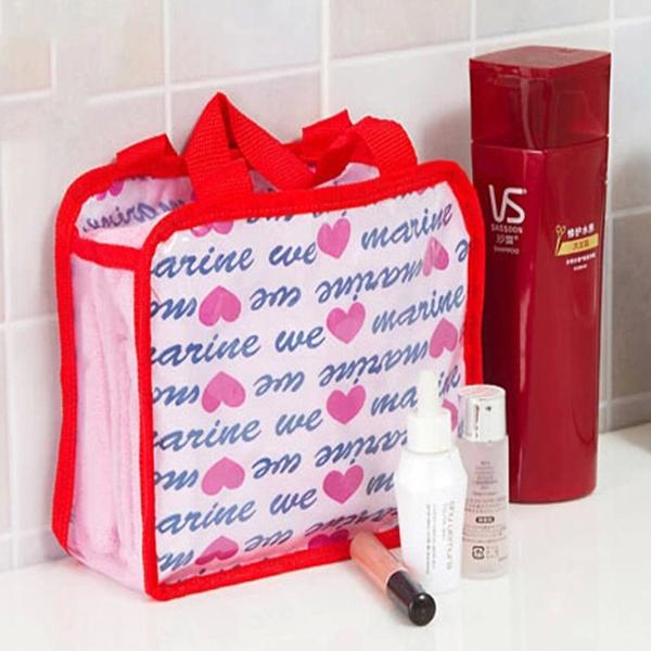 Praktisch Wash Kosmetik Waren Aufbewahrungstasche Travel Schminktäschchen Paket Heimtextilien
