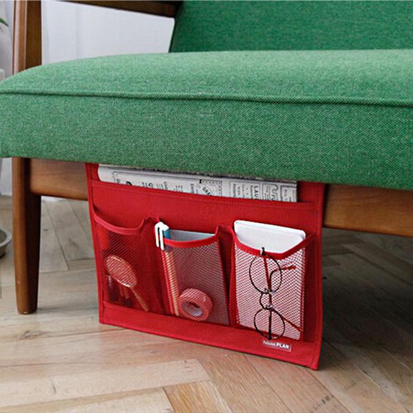 Kreative Nachtaufbewahrungstasche Bed Erhalten Hang Bag Für Halten Heimtextilien