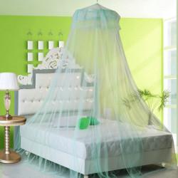 Elegante Spitze Hänge Bettwäsche Moskitonetz Dome Prinzessin Bett Überdachung Filetarbeit