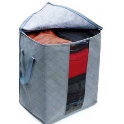 Folding Bamboo Charcoal Förvaringsbox Closet Organizer Bag