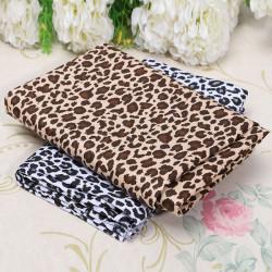 Leopard Streifen Druck Patchwork Stoff Baumwoll Sewing Craft für Tuch Supplies