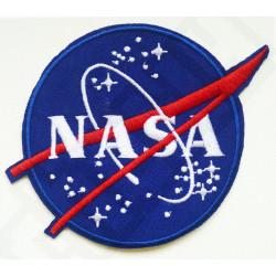 Logo gestickte NASA Muster Flecken nähen auf Flecken Abzeichen Mend T Shirt