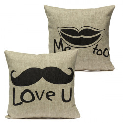 Lovely Lover Throw Pillow Case Cushion Cover Home Decor Wedding Gift