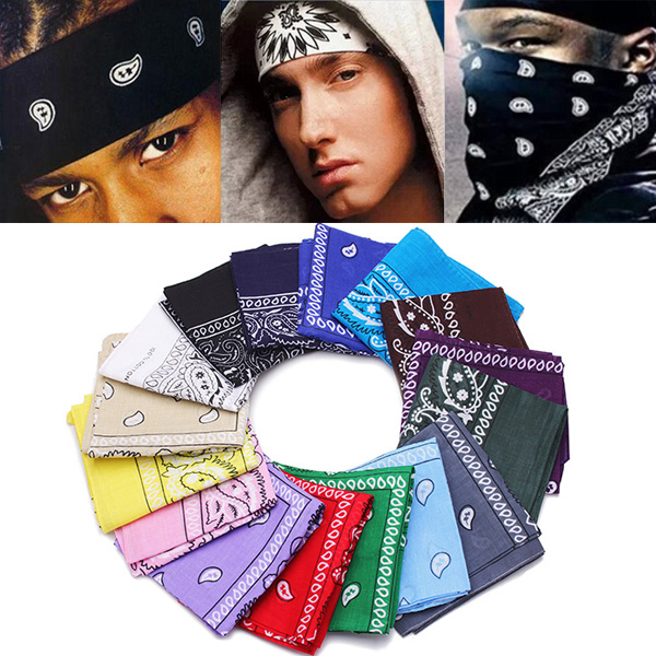 Outdoor HIPHOP Headscarf Facecloth Pirate Handkerchief Biker Hat Cap Home Textiles