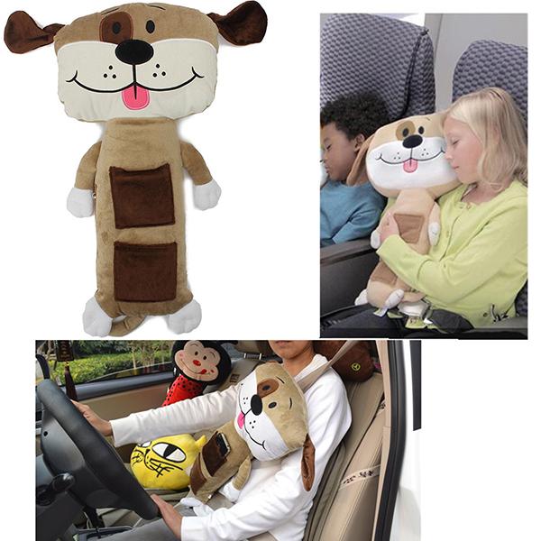 Plush Puppy Puppen Car Safety Kids Gurtpolster Abdeckungs Kissen Heimtextilien