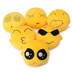 QQ Expression Emoticon Emoji Cartoon Car Pillow Cushion Doll Toy
