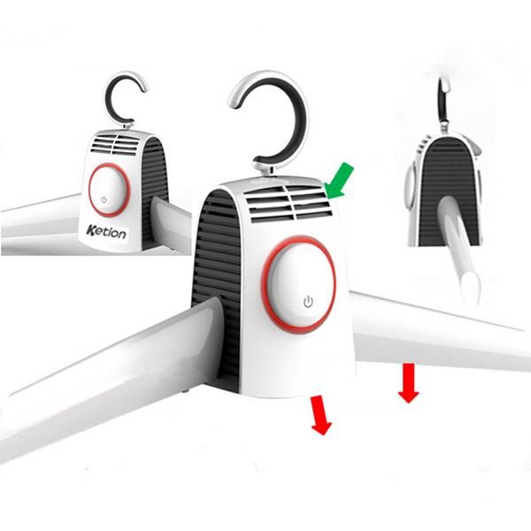 Intelligente klappbaren tragbaren Wäschetrockner Reisebüros Kleidung Trockenrack Heimtextilien