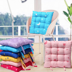 Star Moon Dining Chair Cushion Seat Pad Garden Office Decor