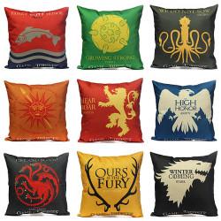 Thrones Spiele Kopfkissenbezug Werfen Auto Sofa Sitzkissenbezug