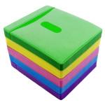 100stk CD / DVD-disk Dobbelt Side Opbevaring Indhylle PPSleeve Holder Pack Husholdningsartikler