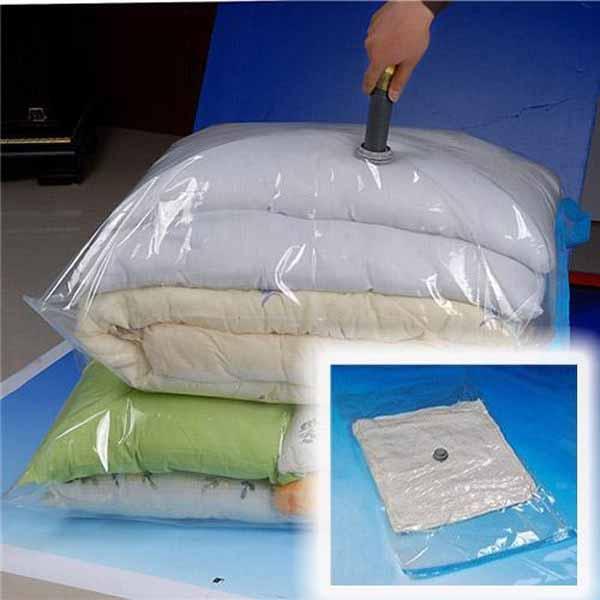 100x80cm Large Space Saver Vacuum Seal Storage Bags Housekeeping