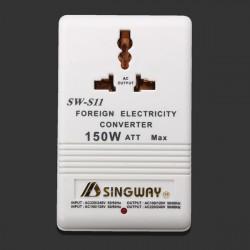 150 Watt 110/220V Bidirectional Electricity Converter AC Adapter