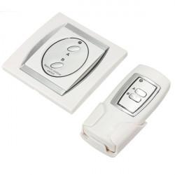 2-Channel Lighting RF Digital Wireless Remote Control Switch 220V 50HZ