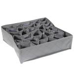 30 Cell Bamboo Charcoal Shorts Sokker Skuffe Closet Divider Opbevaring Box Husholdningsartikler