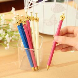 3stk elegante Krone Kugelschreiber Personalisierte stilvolle Kugelschreiber