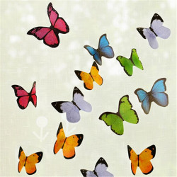 40pcs Butterfly Notes Memo Bookmark Post Index