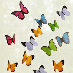 40stk Schmetterling merkt Protokoll Bookmark Postindex