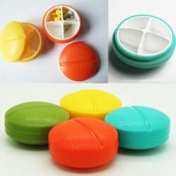 4 Fach Reisen Pill Box Organizer Tablet Medizin Speicher Halter