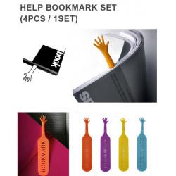 4stk Personlig Bogmærke Hjælp Mig Bogmærke Unique Bogmærker