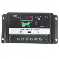5A Solpanel Batteriregulator Charge Controller CE 12V / 24V