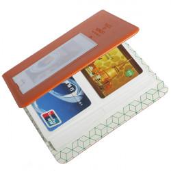 64 Polaroid Mini Size Fotoalbum Pockets Kreditkort Opbevaring Case Book