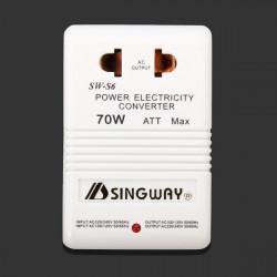 70 Watt 110 / 220V Dubbelriktad Elektricitet Converter Nätadapter
