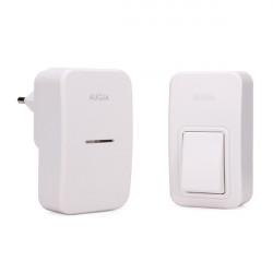 AuGreener Battery free Drahtlos Doorbell E1 European Standard Plug