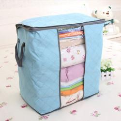 Bambus Trækul Ikke-Vævede Tøj Tøj Quilt Opbevaring Taske Box