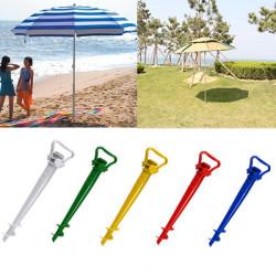 Beach Have Patio Sol Umbrella Holder Parasol Ground Earth Anchor