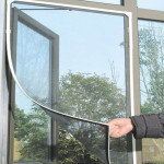 Schwarz Anti Mosquito Pest Fenster Netz Mesh Screen Vorhang Schutz Hauswirtschaft