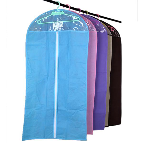 Kläder Suit Cover Blixtlåspåsar Dammskyddad Förvaring Protector Hushållsredskap