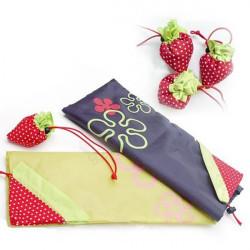 Creative Stor Size Strawberry Folding Shopping Taske Håndtaske