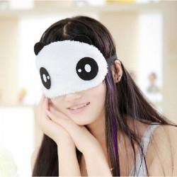 Sød Blød Panda Expression Blindfold Sleeping Eye Mask Unisex