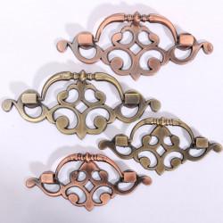 Europæiske Retro Style Bronze Skuffe Skab Håndtag Dørhåndtag