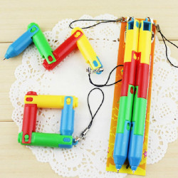 Faltbare Kugelschreiber zusammenklappbare Kugelschreiber Biegeverformung Pen