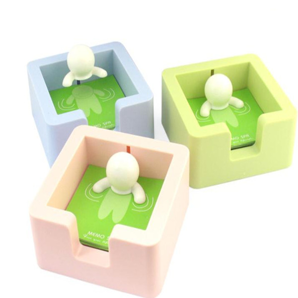 Green Little And Convenient Spa Memo Pad Holder Stationery