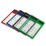 LCD 8 stellige Touch Screen Ultraslim Transparente Solarrechner Bürobedarf