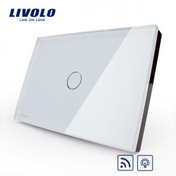 LIVOLO Dimmer Remote Touch Wall Light Switch VL-C301DR-81/82 1 Gang