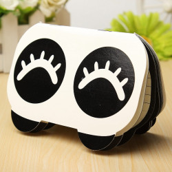 Lovely Cute Panda Small Books Notes Paper Diary Notebook Memo Note